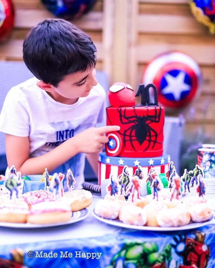 Et Voila Il A 10 Ans Je Me Souviens Du Tout Petit Bebe Qu Il Etait Toujours Souriant Et De Bonne En 2020 Anniversaire Anniversaire Super Heros Anniversaire Garcon
