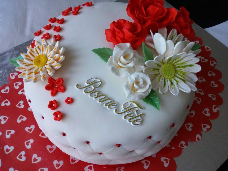 41 best Gâteau d'anniversaire images on Pinterest | Birthdays, Anniversary cakes and Birthday cake