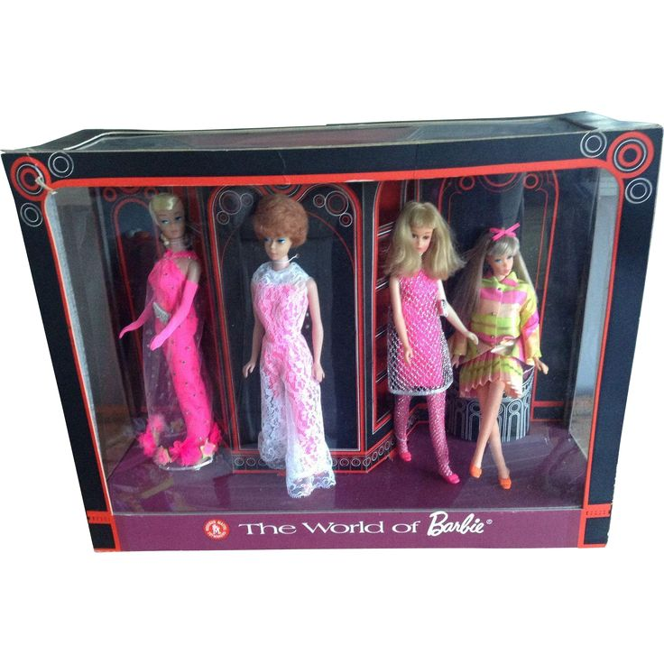 Extremely rare 'The World of Barbie' shop window point of sale display, circa 1968!