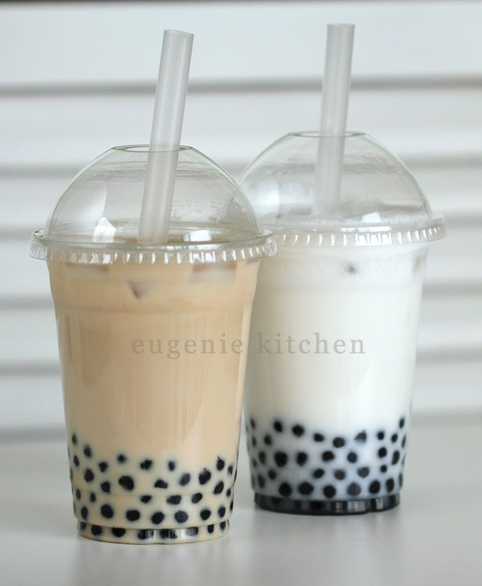 Today I am making delicious Taiwanese invention, bubble tea, of two flavors: milk tea and coconut. Milk Tea Bubble Tea Recipe For 1 serving Ingredients 1/3 cup cooked giant black tapioca 3 tablespoons simple syrup (find the recipe here.) 1/2 cup strongly black tea, cooled to room temperature 1 tablespoon simple syrup 2/3 cup ice cubes … … Continue reading →