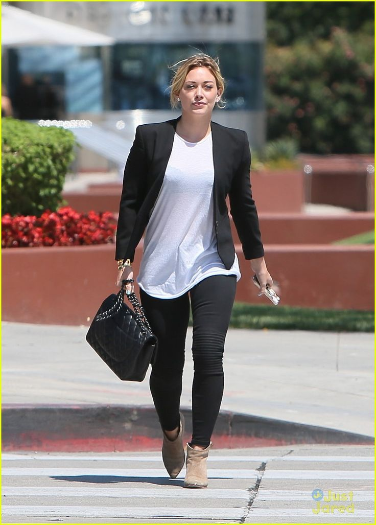 Hilary Duff Loved Working with Ed Sheeran on Her Song 'Tattoo'!   hilary duff steps out after new song 01 - Photo