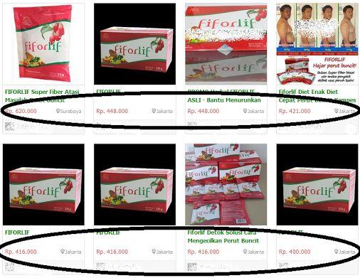 Hati hati !! Berikut adalah harga Fiforlif palsu di pasaran........ http://fiberherbal.com/blog/harga-fiforlif/