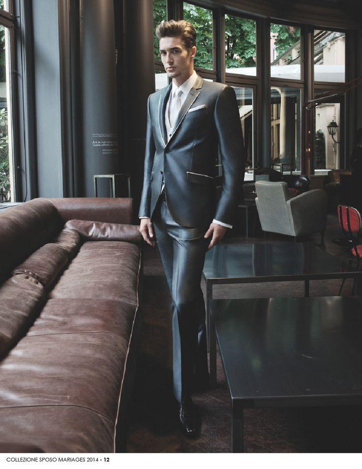 UOMO- 12 Perché l'#uomo di oggi è molto esigente quando si parla di #moda ed abbigliamento da #matrimonio. A lui #Mariages dedica capi di abbigliamento da matrimonio per l'uomo di classe. www.mariages.it