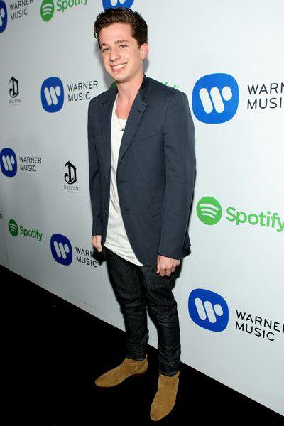 Charlie Puth Photos - Warner Music Group Grammy Celebration — Part 3 - Zimbio