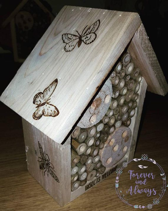 Insect House Insect Hotel Garden Decor Summer Garden Home