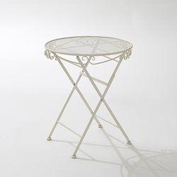 Folding Metal Garden Table La Redoute Interieurs - HOME & FURNITURE