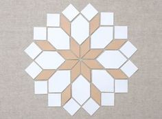 MessyJesse: English Paper Piecing Basics: Week 4 // Matching Shapes + Pattern