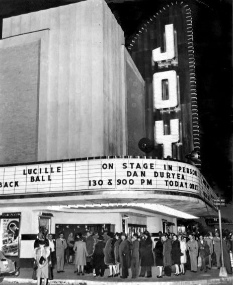 New Orleans Joy theater , grand opening, 1947.