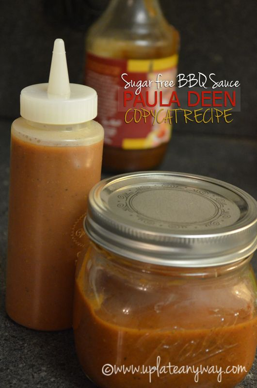 Sugar free paula deen copycat BBQ sauce / #lowcarb shared on https://facebook.com/lowcarbzen