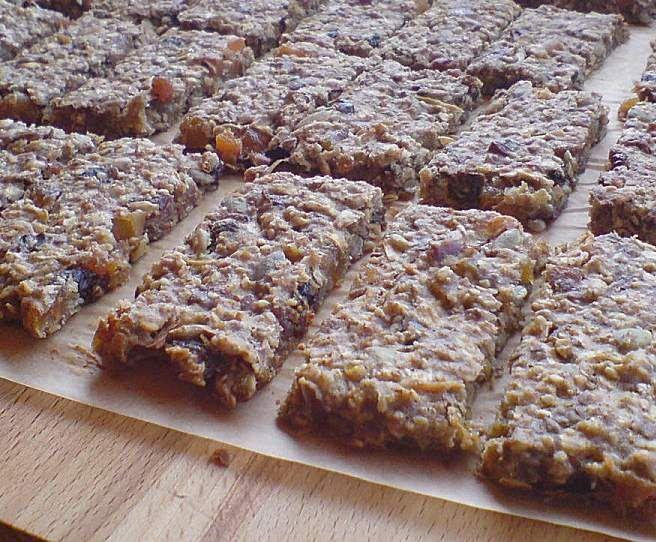 Rezept Müsliriegel von Elwe13 - Rezept der Kategorie Brot & Brötchen