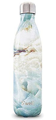S'well Stainless Steel Water Bottle Elements Collection Opal Marble 25 oz by Swell