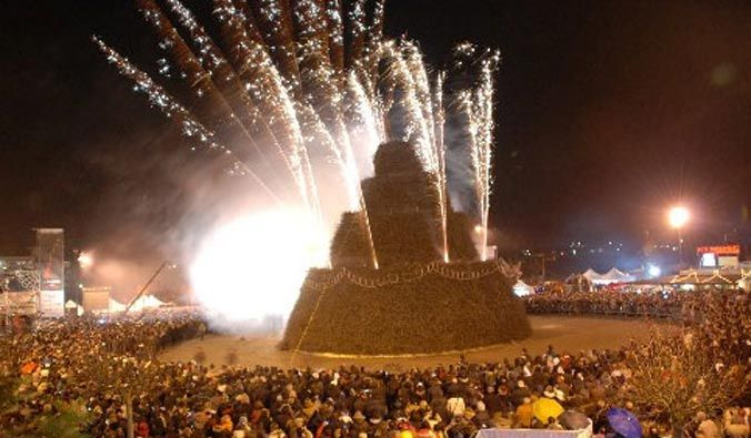 """Tra poco, come ogni anno, arriva una delle più conosciute feste salentine: """"LA FOCARA"""" a Novoli."""
