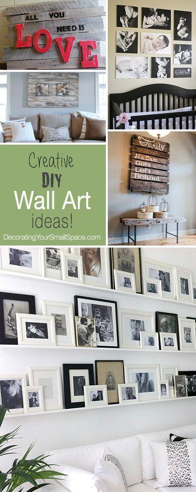 DIY Wall Art • Tips, Ideas & Projects!