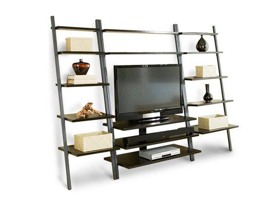 Scandinavian Designs - Media Storage - Golia Leaning TV Stand