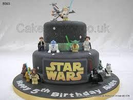 Resultado de imagem para bolo star wars lego