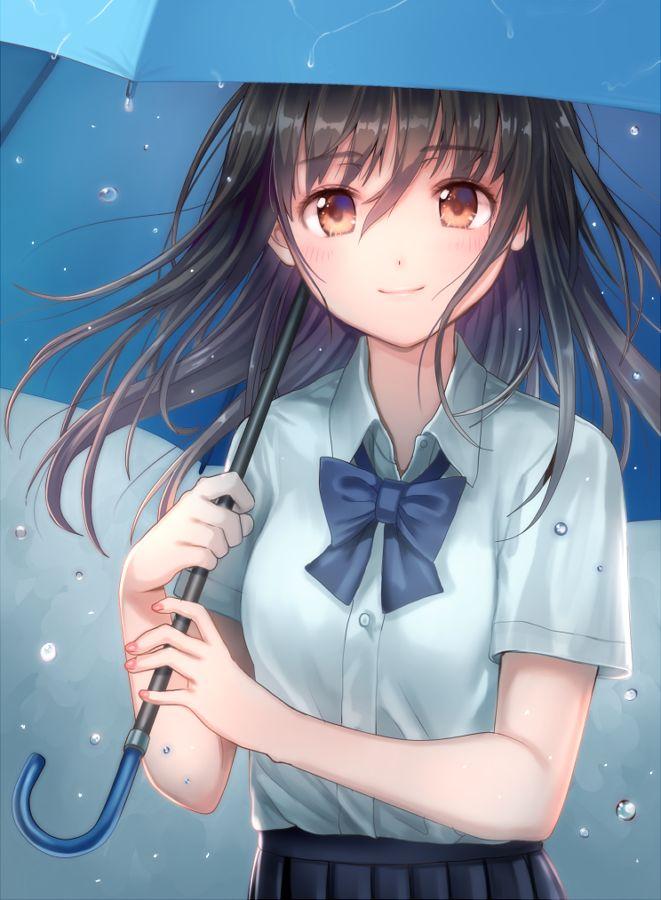 Anime Girl With Umbrellas In Rain Wallpaper 79 Best Rain Faℓℓ ☂︎ Images On Pinterest Anime Girls