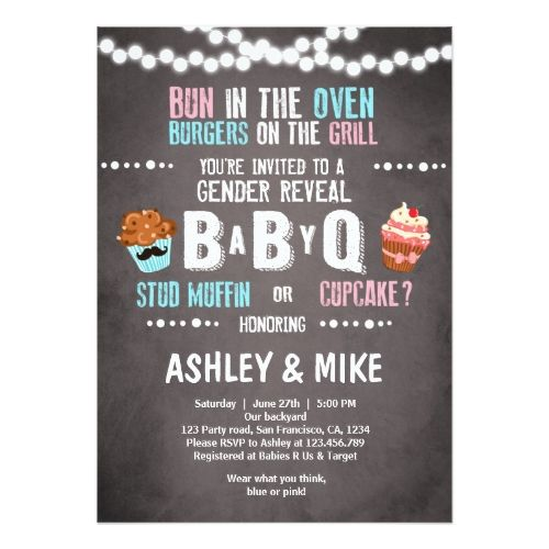best 10+ gender reveal party invitations ideas on pinterest | baby, Party invitations