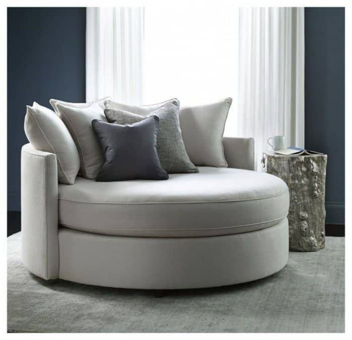Unique And Comfortable Oversized Chairs Round Sofa Chair