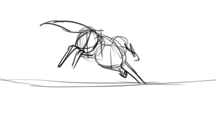 sketch Run+camera movement by Remarin