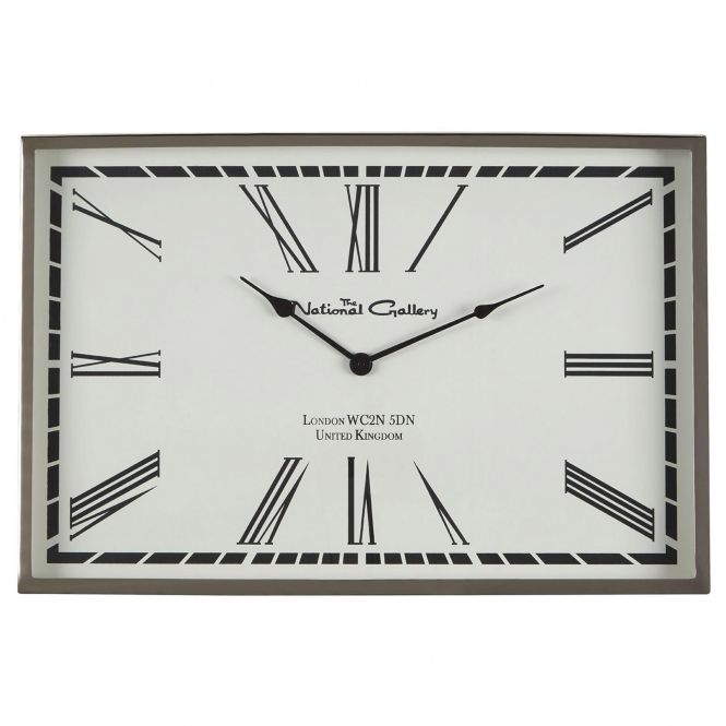 Churchill Rectangular Wall Clock Wall Clock Clock Shabby Chic Clock