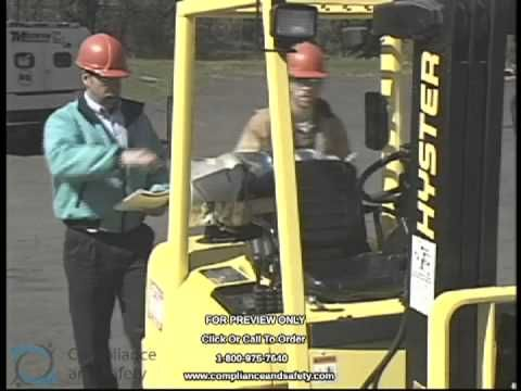 Forklift Training Video by Compliance and Safety