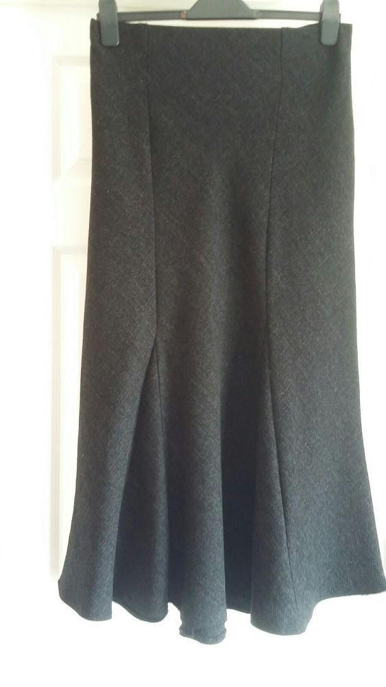 791ea862b3d EXCELLENT CONDITION MARKS AND SPENCER BLACK MIX SKIRT SIZE 10  fashion   clothing  shoes  accessories  womensclothing  skirts  ad (ebay link)