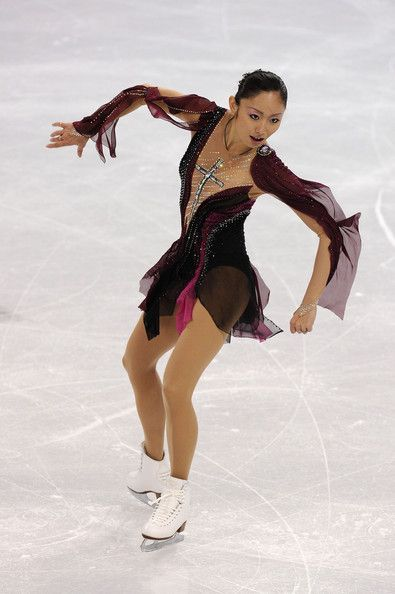 Miki Ando Photos - Figure Skating - Day 12 - Zimbio