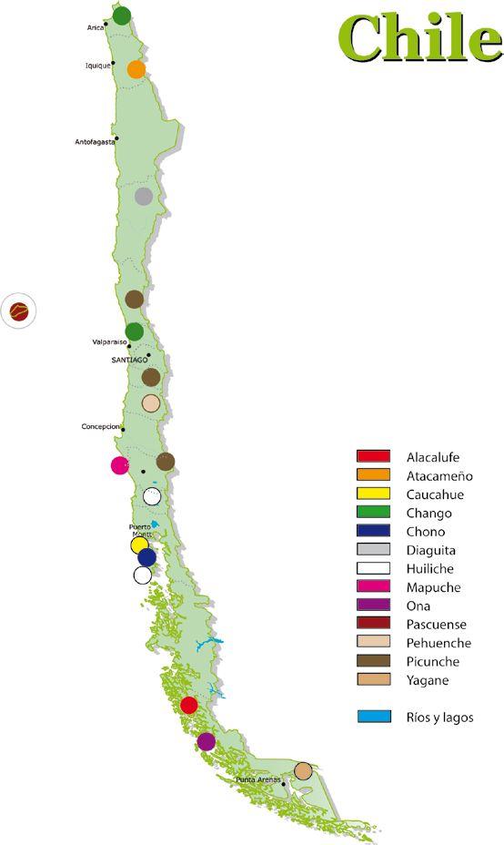 Los pueblos originarios de Chile son un grupo grande de diversas comunidades. A los ojos del extranjero sòlo se conoce el mapuche, sin embargo aùn podemos contar con descendientes de los que poblaban nuestro terruño al llegar los conquistadores españoles.
