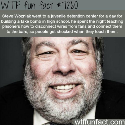 Steve Wozniak - WTF fun fact