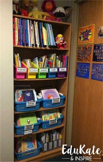 School Counselor Book Organization