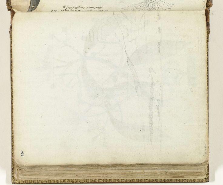 Jan Brandes   Deel van schets van Kaap de Goede Hoop, Jan Brandes, 1786 - 1787   Schets in potlood van gezicht op Kaap de Goede Hoop. Dit vel hoort ter linkerzijde van de deel 1, p. 69. Onderdeel uit het schetsboek van Jan Brandes, dl. 1 (1808), p. 226.