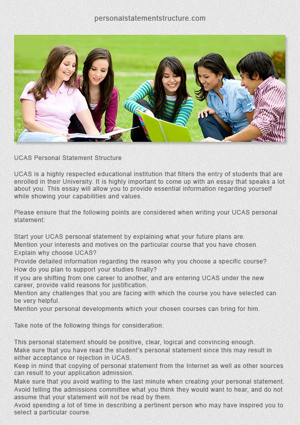 PGCE Personal Statements