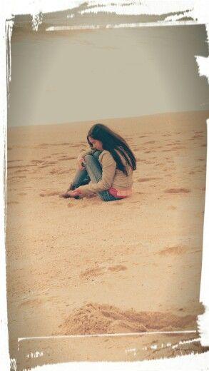 Recta Las Salinas en Viña del Mar, Valparaíso .....mi hermosa hija.....te amo Carola !!!