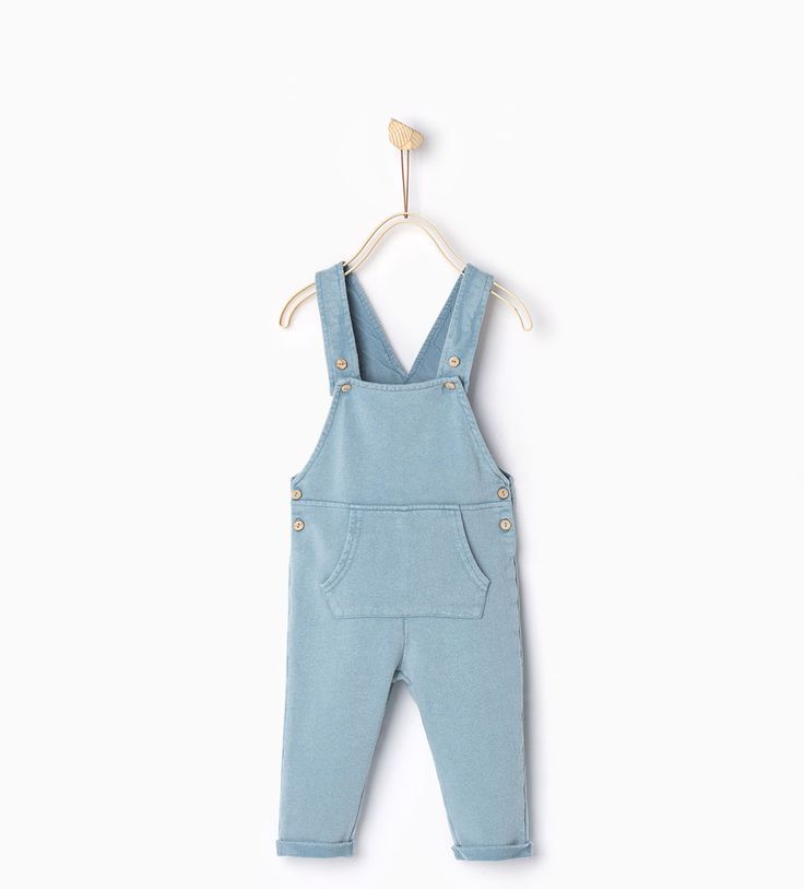Plush dungarees-Dresses-Baby girl   3 months-4 years-COLLECTION SS16   ZARA Belgium