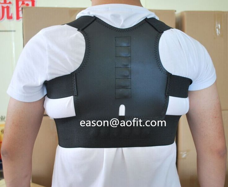 Bax-U Magnetic Posture Corrector Back Shoulder Support Brace