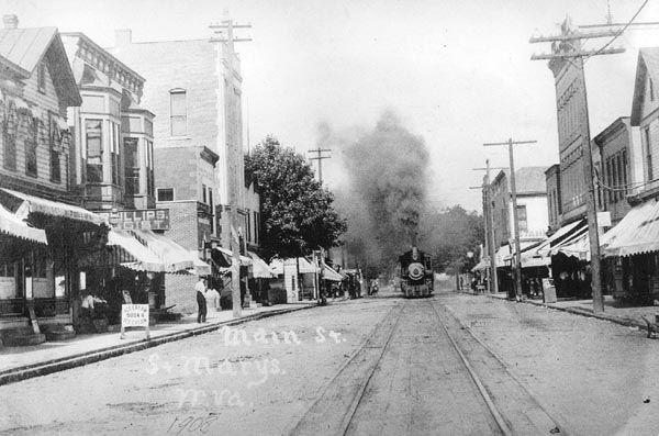 train west virginia | in West Virginia History...