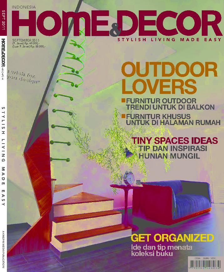 Home & Decor Indonesia Indonesian Magazine Buy