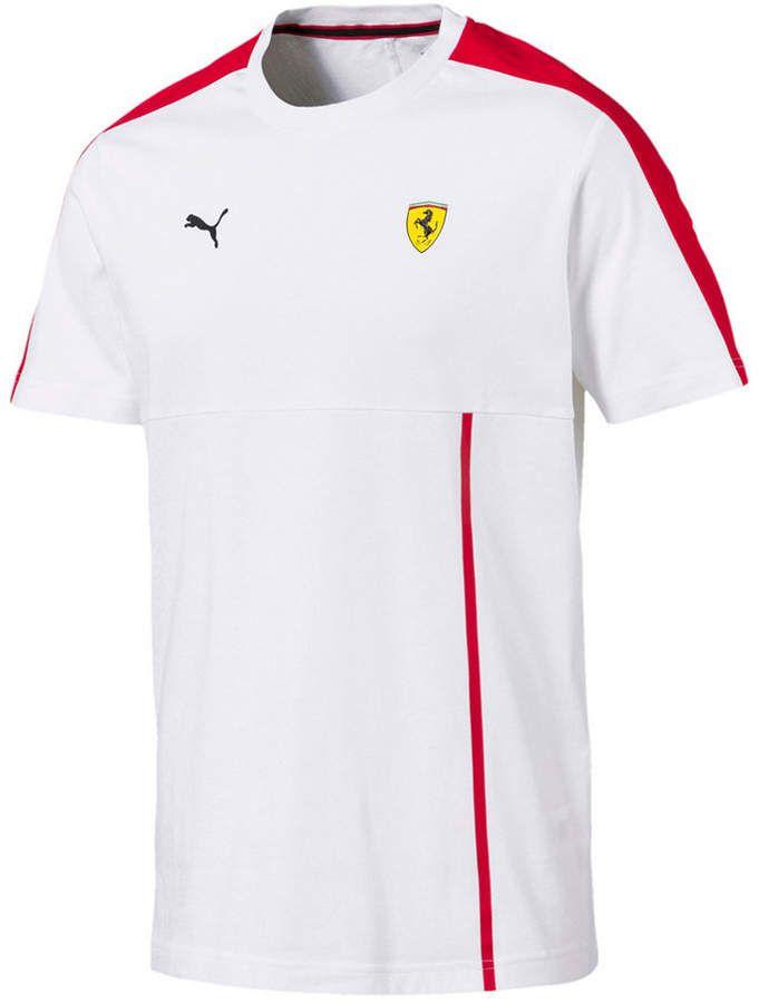 Puma Men's Ferrari T-Shirt | Shirts, Mens tshirts, Mens outfits