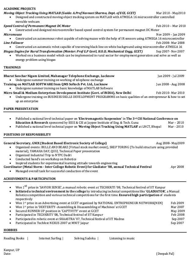 Electrical Engineering Resume Sample - http://resumesdesign.com/electrical-engineering-resume-sample/