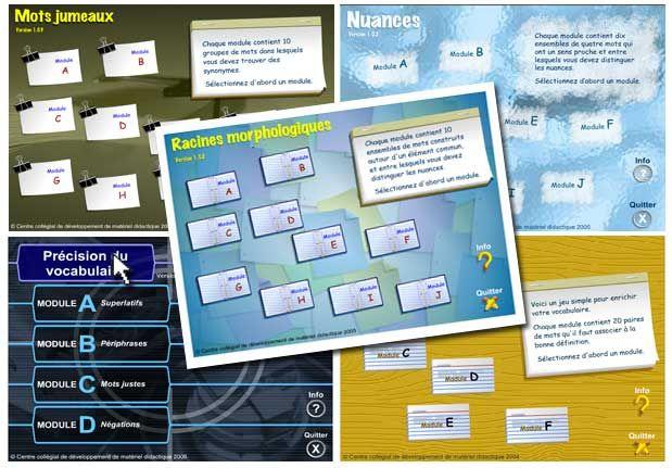 Voir les 5 jeux interactifs pour enrichir son vocabulaire ! via TV5Monde.com