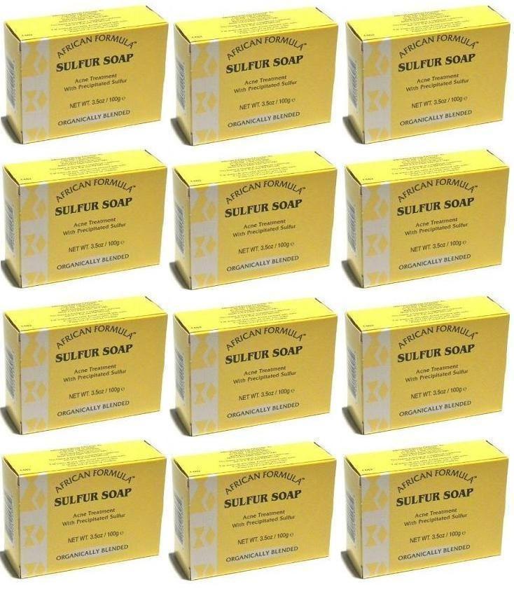 SULFUR SOAP PACK DEALS  Acne Treatment 3.5 oz  Jabon de Azufre