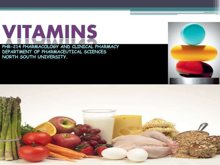 Presentation on Vitamins for Pharmacology & Clinical Biology. Given at North South University.