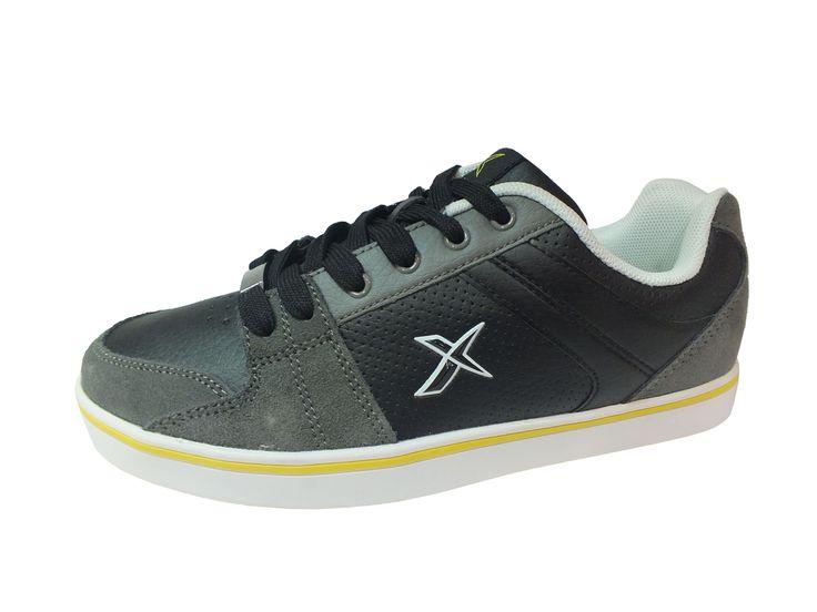 Kinetix Marka Bağcıklı Siyah Sarı Erkek Spor Ayakkabı, http://www.carikcim.com/kinetix-pasor-bagcikli-siyah-sari-erkek-spor-ayakkabi