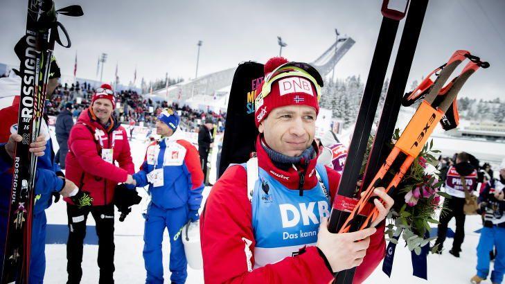 TIDENES STØRSTE: Ole Einar Bjørndalen er tidenes største skiskytter. 42-åringen slutter aldri å imponere, begeistre og overraske. Foto: Bjørn Langsem / Dagbladet