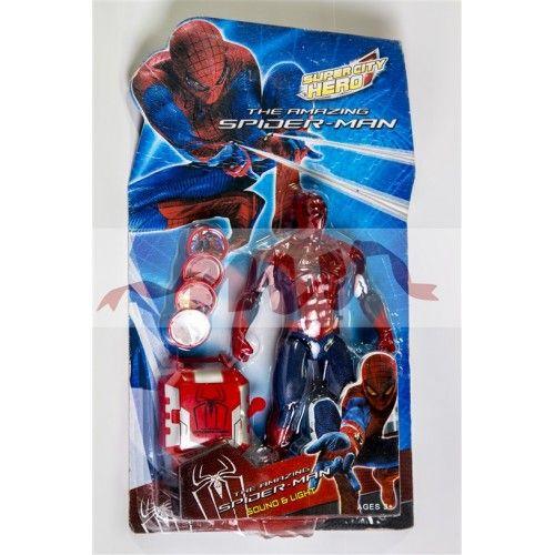 Spiderman si lansator discuri