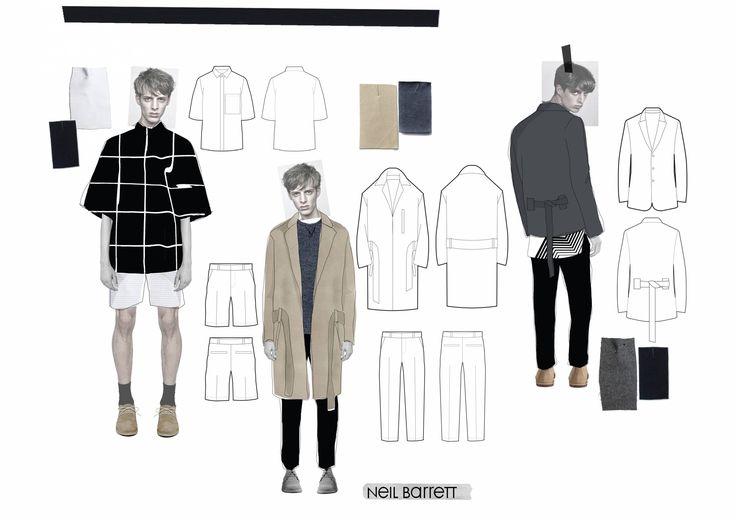 Fashion Sketchbook - fashion drawings; fashion student portfolio // Annie Mckie