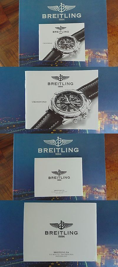 Manuals and Guides 93720: Breitling Crosswind Watch Instruction Maintenance Manual Book Guide Booklet W BUY IT NOW ONLY: $59.99