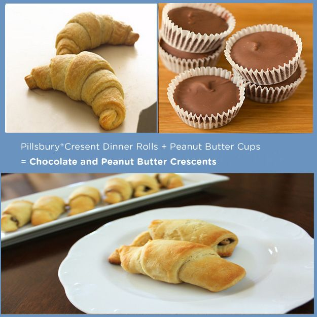 Chocolate And Peanut Butter Filled Crescent Rolls Recipes — Dishmaps