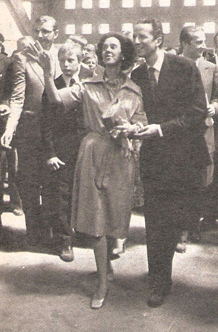 Couple Royal au Heysel en1976