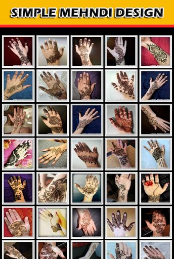 This application contains the latest mehndi designs of 2014-2015. Mehndi holds a lot of cultural significance in subcontinent traditions. Be it weddings, Eids, karva chauth or other celebrations mehndi is considered as important part. This app contains the new styles and designs of mehndi which you do not find anywhere. You can select any design of your own choice zoom in for clear view and share this app with your friends.latest Mehndi Designs or Henna Designs for your Hands,Feet and Pap...